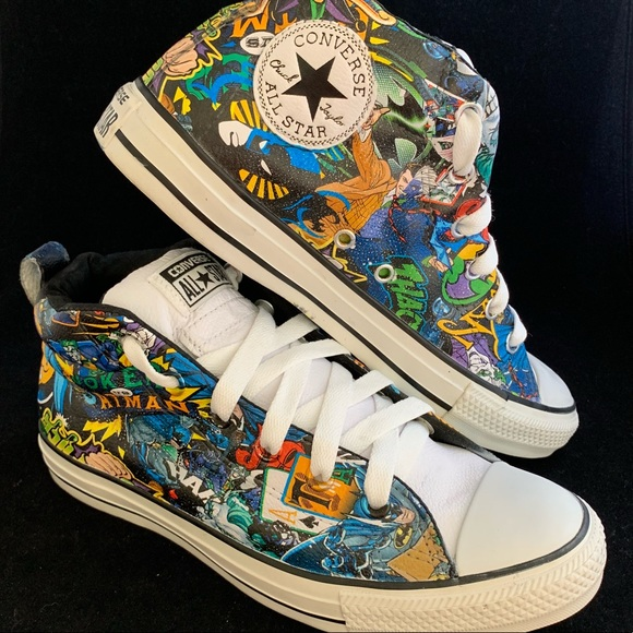 Converse Other - One-of-a-kind HYDROGRAPHIC chuck's comic design